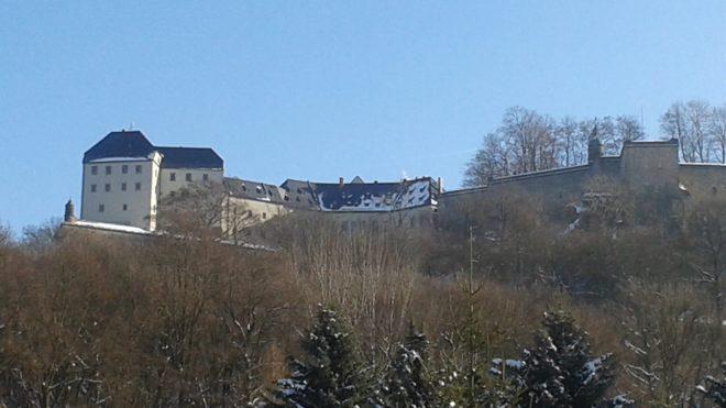 Auf der Festung Königstein, jupheidi - jupheida, muss doch auch ein Klempner sein