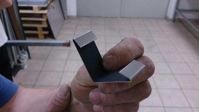 Das wahrscheinlich kleinste Kehlblech der Welt